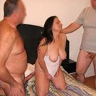 wife in gangbang